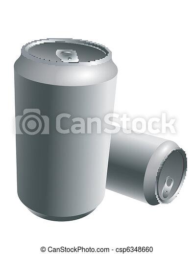 Aluminum Drink Cans - csp6348660