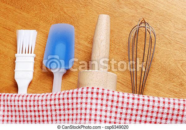 kitchen baking utensils - csp6349020