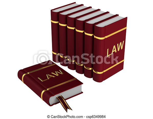Book of Law - csp6349984