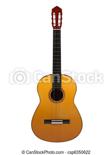 guitare, classique - csp6350622