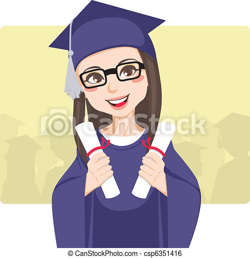 Double Graduation - csp6351416