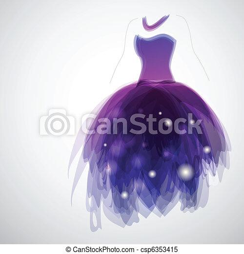 Bride\'s dress - csp6353415
