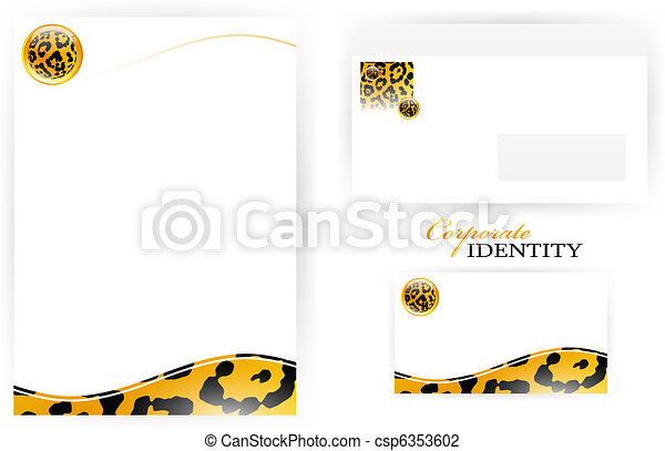 Corporate identity set - csp6353602