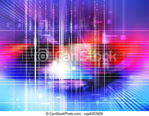 Digital backdrop - csp6353926