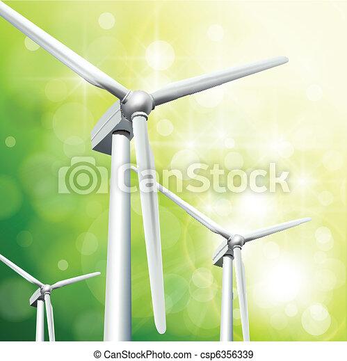 Green energy concept - csp6356339