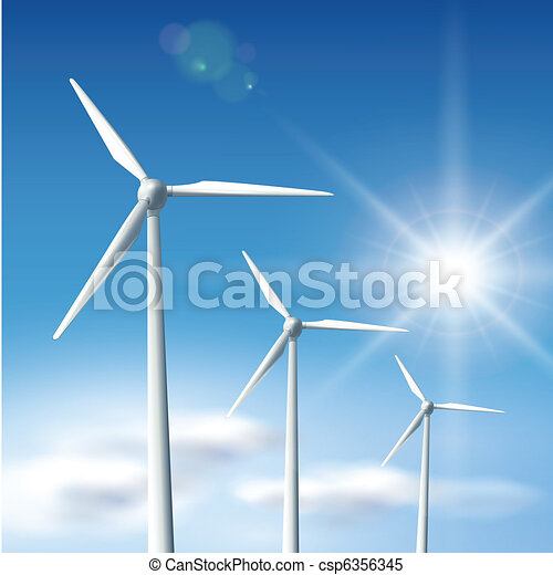 wind turbines  - csp6356345