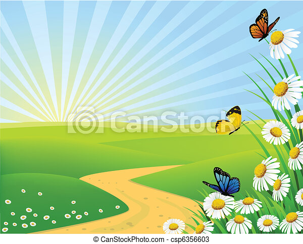 Nature Clipart Images Nature background csp