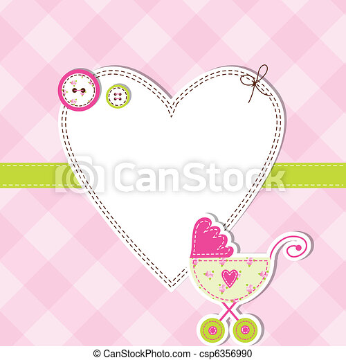 Baby shower card - csp6356990