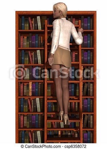 Sexy Secretary  - csp6358072