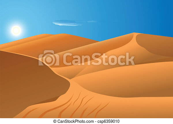 desert dune - csp6359010
