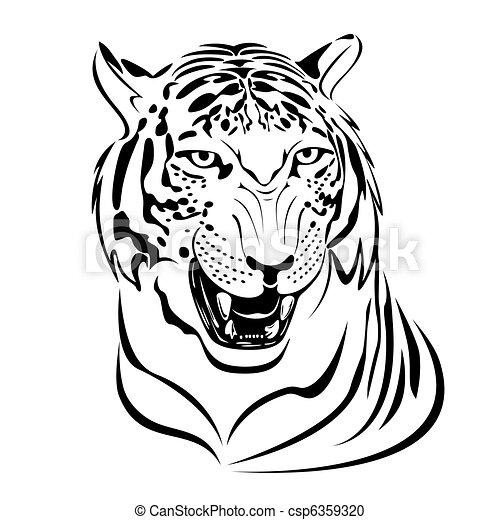 Tiger - csp6359320