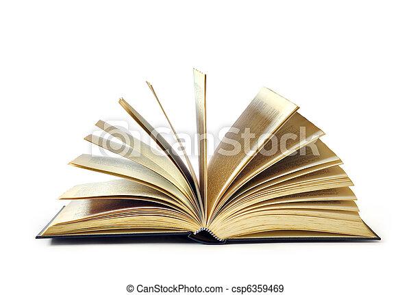 open book - csp6359469