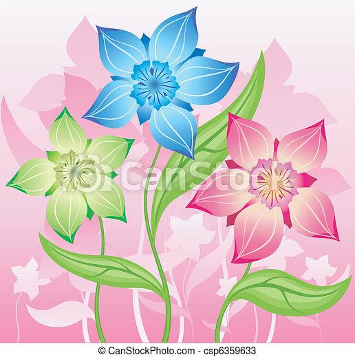 Bouquet of flower - csp6359633