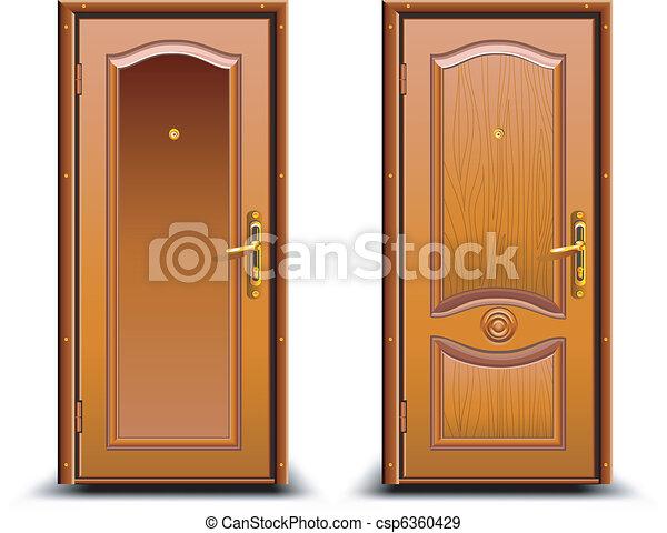 Door closed  - csp6360429