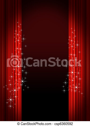 Theatrical background - csp6360592