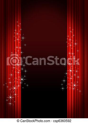 Theatrical background - csp6360592