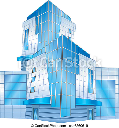 Office building - csp6360619