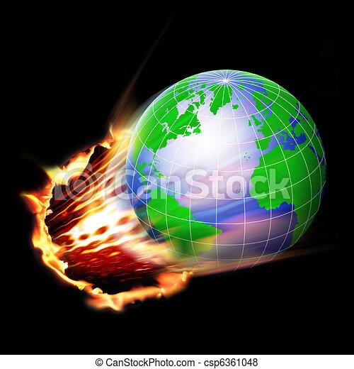 World in motion - csp6361048