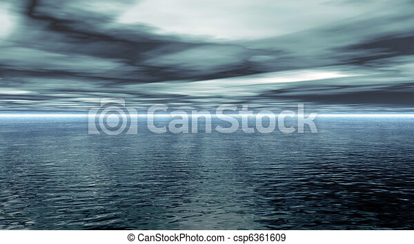 Calm Water - csp6361609