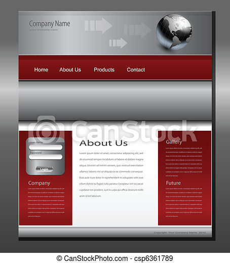 Website template - csp6361789