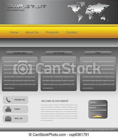 Website template - csp6361791