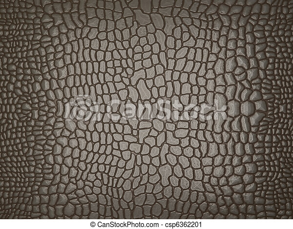 Grey Alligator skin: useful as texture or background - csp6362201