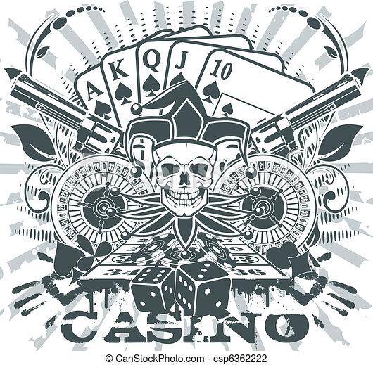 Casino emblem - csp6362222