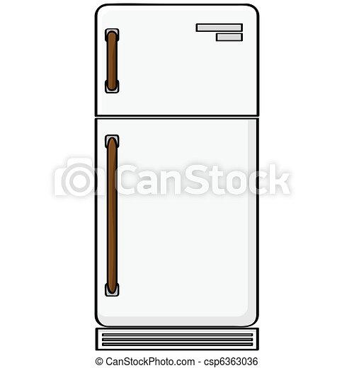 Refrigerator - csp6363036