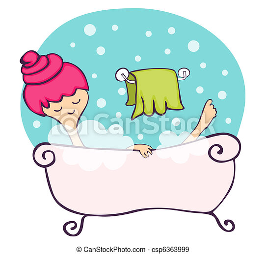 Clip Art Bathtub Clip Art bathtub stock illustrations 4927 clip art images and in the young woman relaxing bathtub