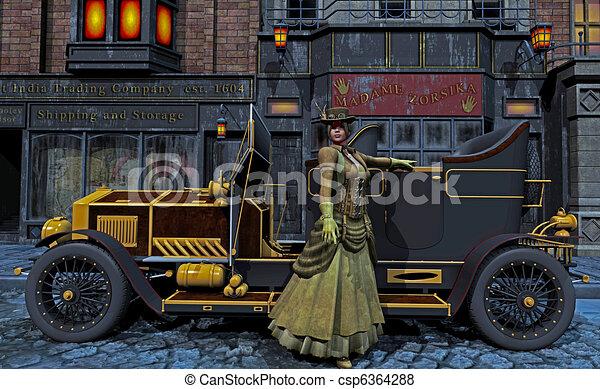 steampunk - csp6364288