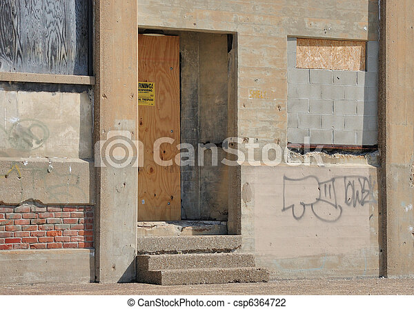 Abandoned Building - csp6364722