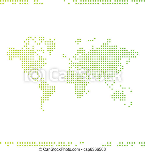 World map - csp6366508
