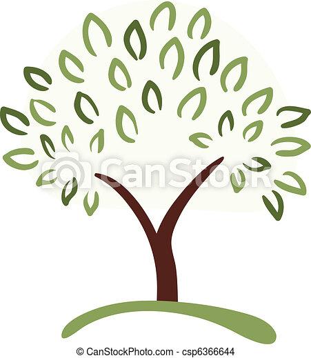 tree symbol - csp6366644
