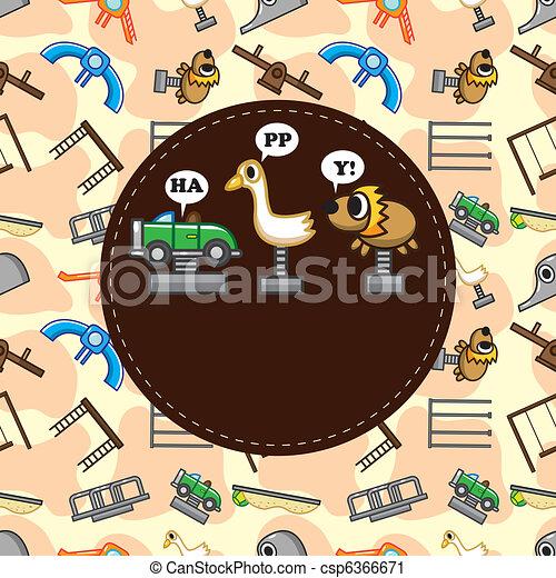 playground card - csp6366671