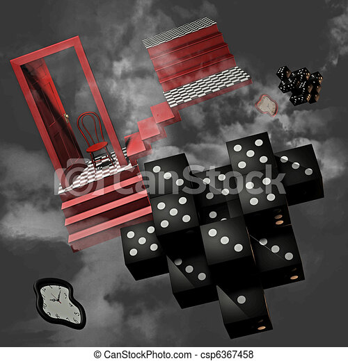 surreal dream - csp6367458