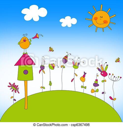 Illustration for children - csp6367498