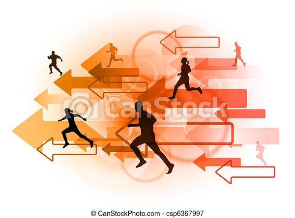 red runners - csp6367997