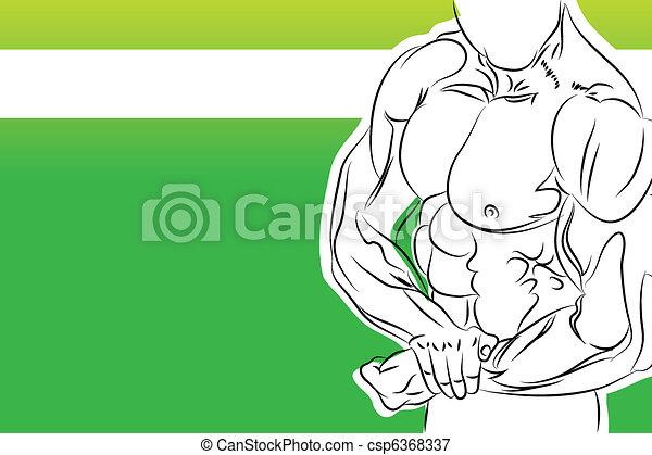 strong man - csp6368337