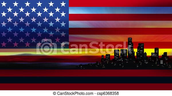 America - csp6368358
