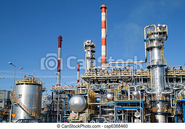 Oil refinery - csp6368460