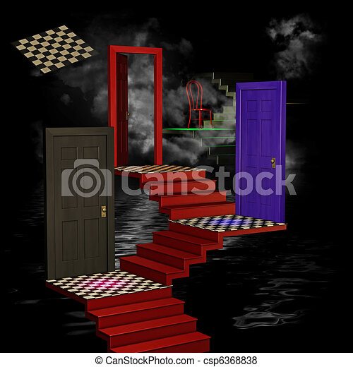 surreal dream - csp6368838