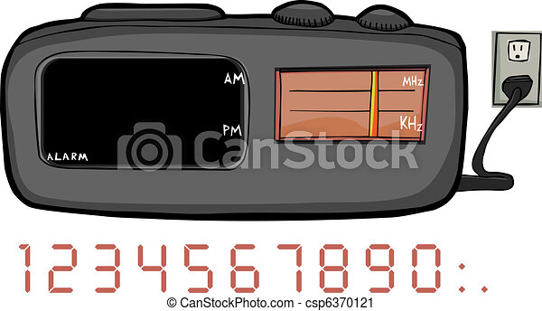 Clock Radio - csp6370121