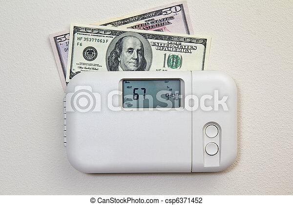 Home Heating Costs - csp6371452