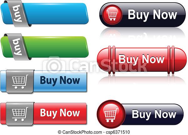 Buy buttons set - csp6371510
