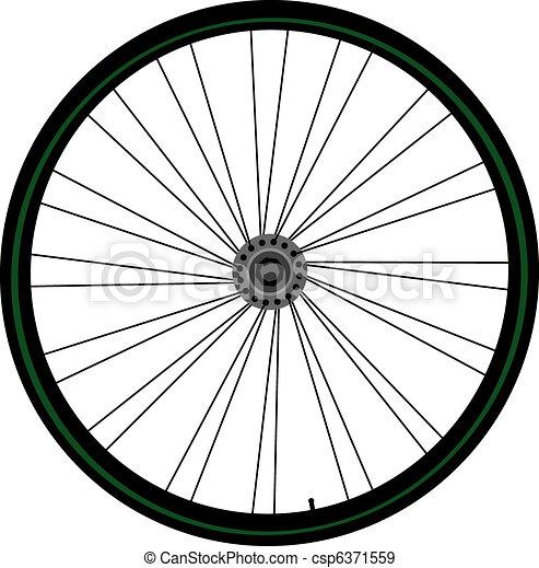 Bike wheel - csp6371559