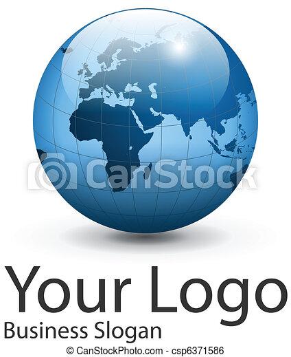 Logo globe - csp6371586