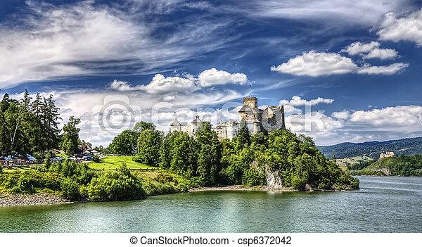 Medieval Dunajec castle in Poland - csp6372042