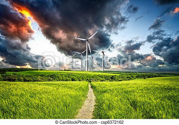 Power in nature - csp6372162