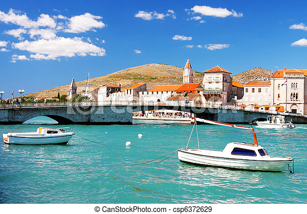 Town in Croatia - csp6372629