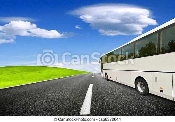 Tour bus - csp6372644